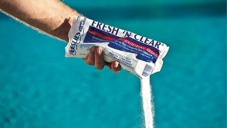 tratamiento de choque para piscinas