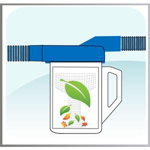 filtro hojas piscina