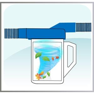 filtro remolino aspirador hojas piscina